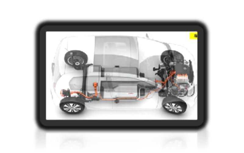 EV车内电池连接电缆(屏蔽电缆)