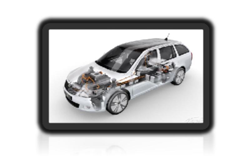 EV车内电池连接电缆(非屏蔽电缆)