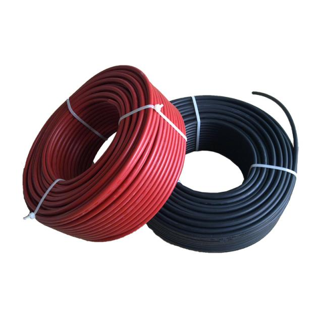TUV,UL approved PV Solar Cable 1.5mm2 /2.5mm2/ 4mm2/ 6mm2/ 10mm2/ 16mm2/ 25mm2 For Solar Power Syste