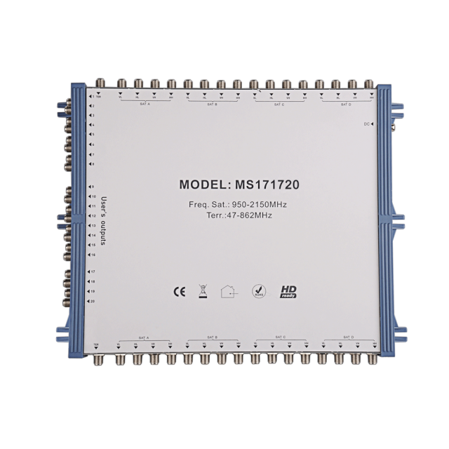 Cascade Satellite Multiswitch MS171720