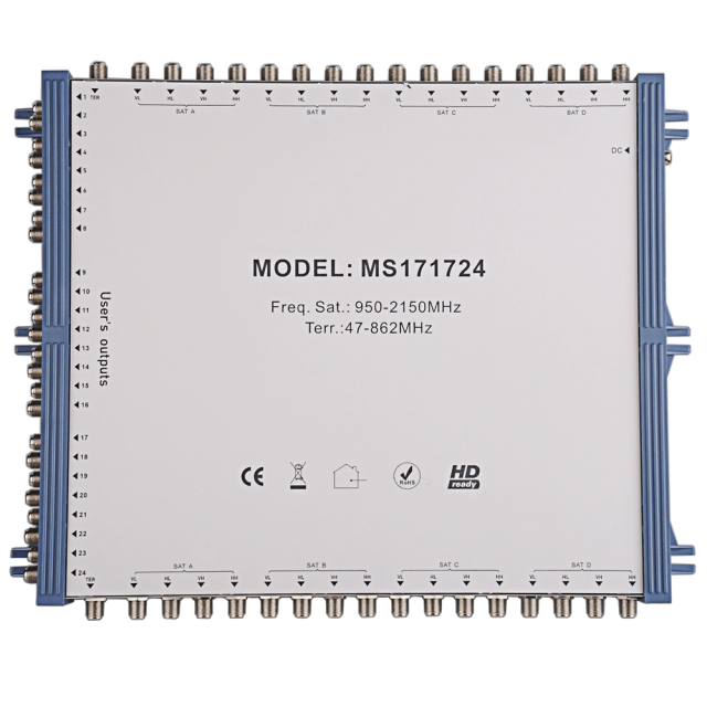 Cascade Satellite Multiswitch MS171724