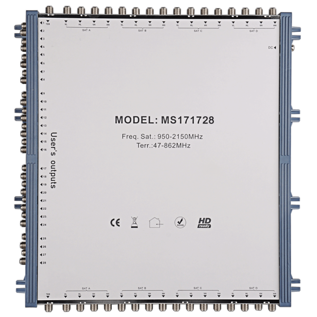 Cascade Satellite Multiswitch MS171728