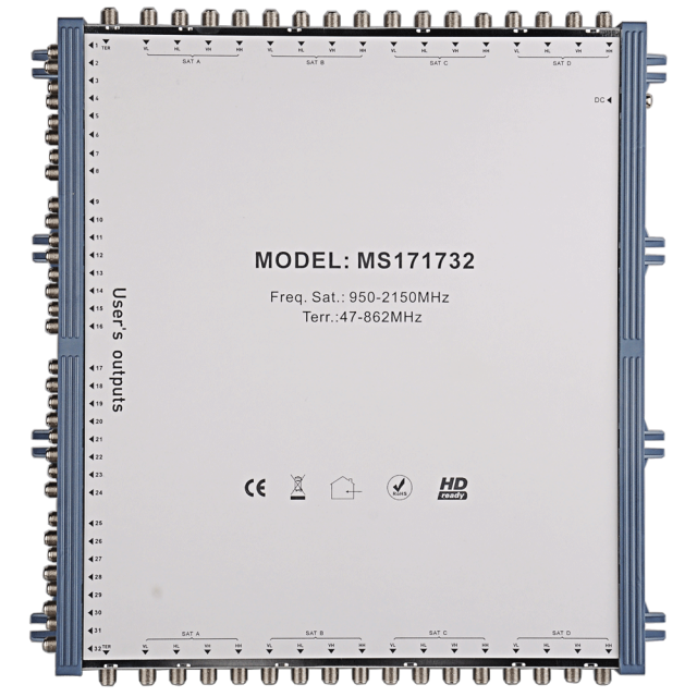 Cascade Satellite Multiswitch MS171732